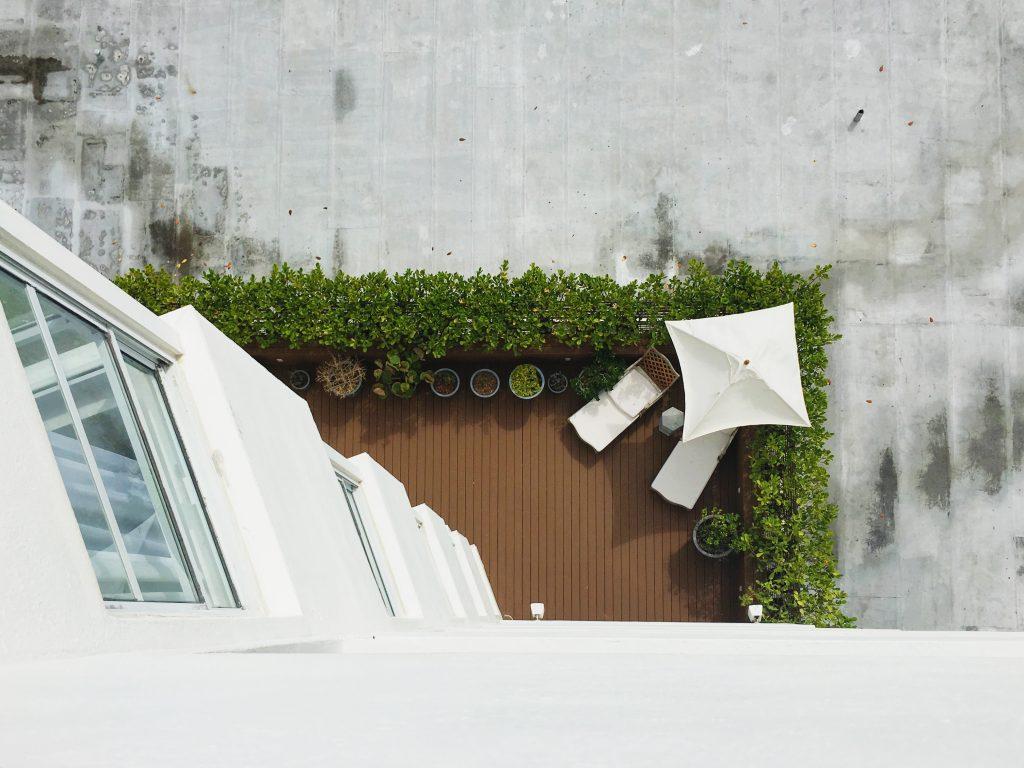 Un jardin potager sur un balcon