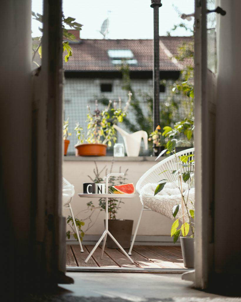 Un petit balcon cosy